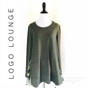 Logo Lounge French Terry Top
